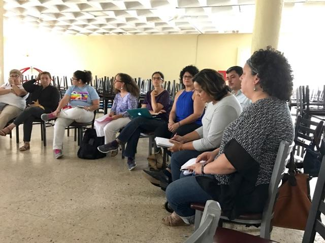 Colectivos Auto-Convocados UPR Cayey 28 de abril