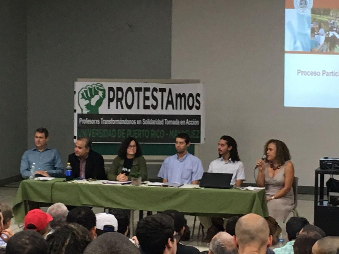 Conversatorio Plan SoS UPR @ RUM 6 de junio
