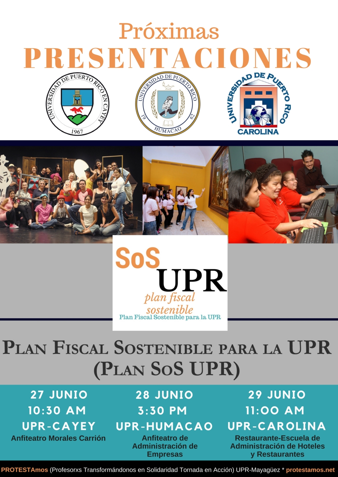Tour UPR Plan SoS Junio 2017