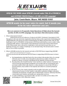 FAQs about APRUM Lawsuit and Al 100 x la UPR Campaign_Page_1
